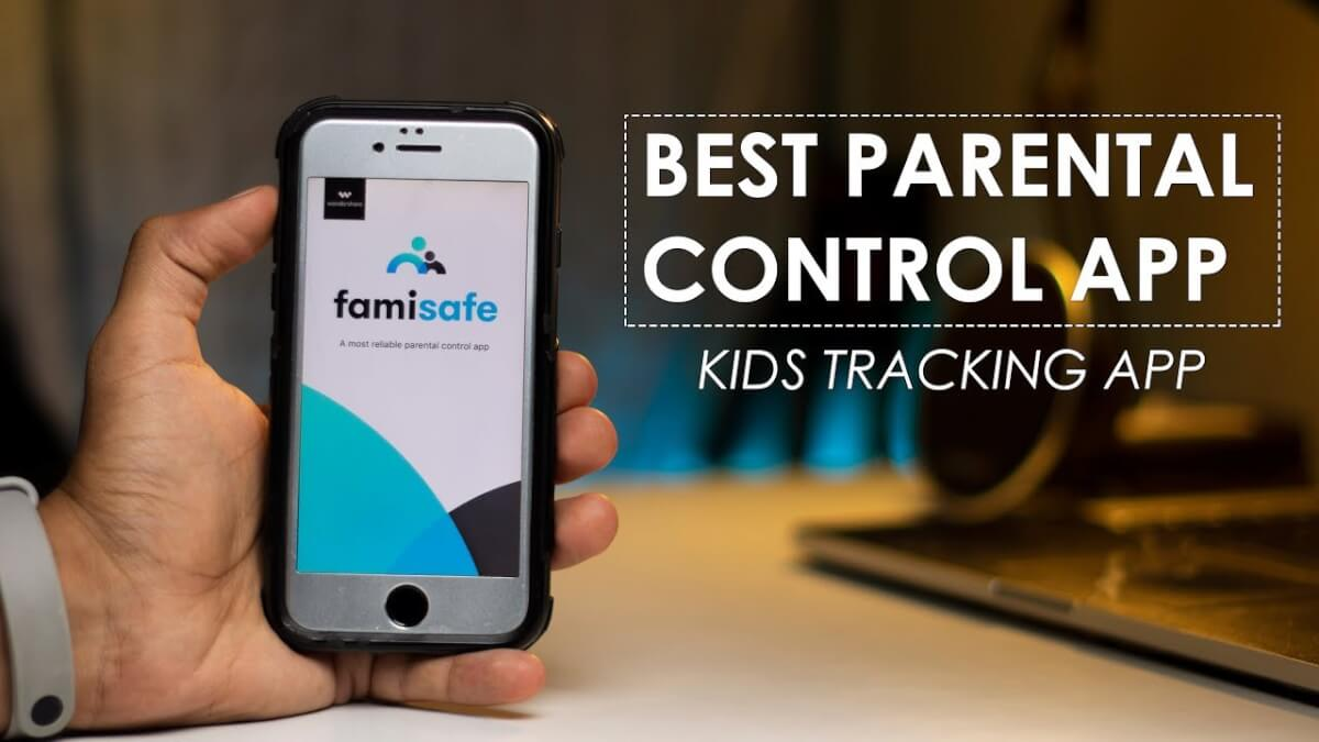 Parental control app to track the safety of children's mobile phones