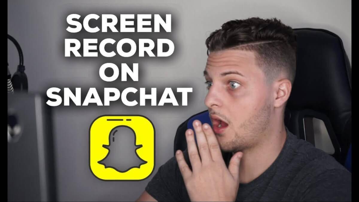 Faites une capture d'écran de Snapchat