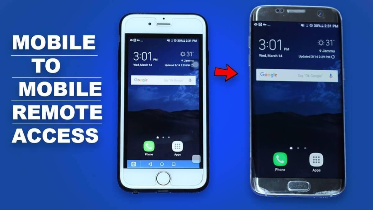 controlar el teléfono android de forma remota