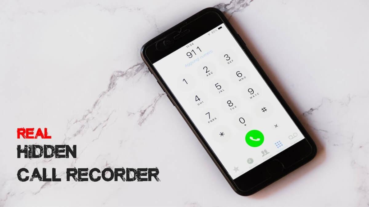 hidden spy call recorder app