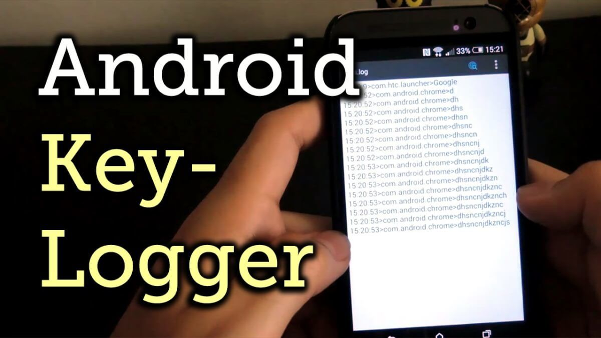 keylogger on Android phone