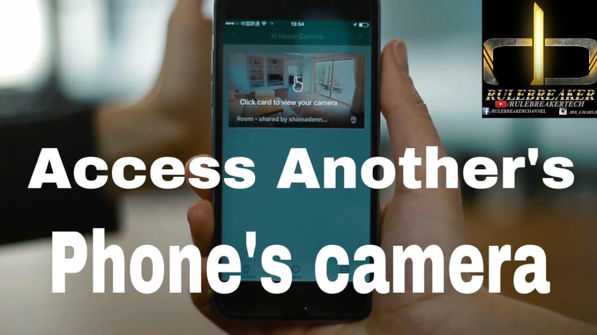 spy someones phone cameras
