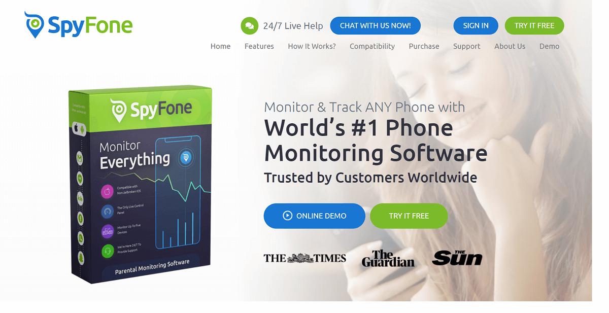 spyfone app