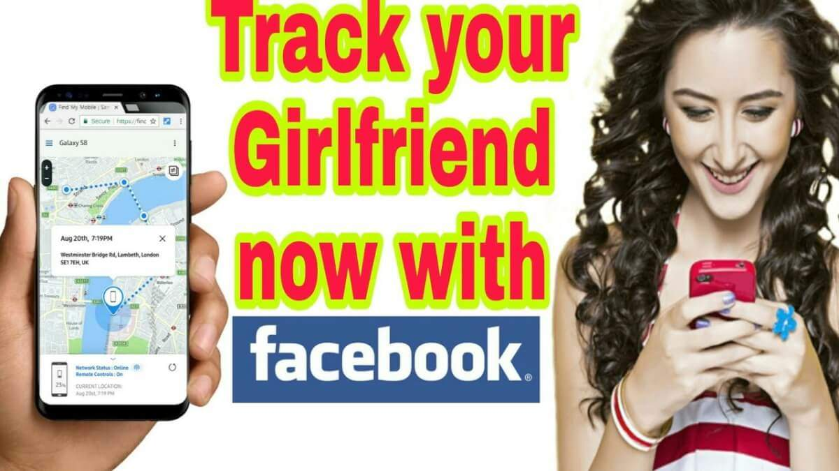 track girlfriend's location