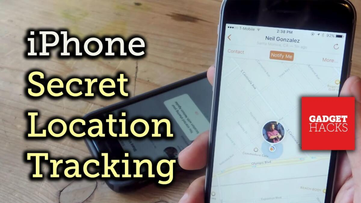 track iphone without them knowing